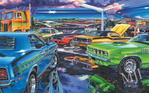 Maritime Classic Cars Michael Irvine Richard Petty