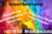 Backyard Powder Coating