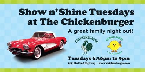 Chicken Burger Car Show